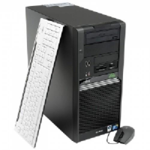 Calculator Fujitsu W370 Tower, Core 2 Duo E8400 3,0Ghz,  2Gb DDR2 , 160Gb HDD , DVD-ROM ***