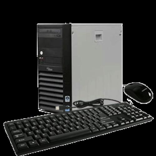 Fujitsu Siemens Esprimo P5720, Intel Core2 Duo E4600, 2.4Ghz, 2Gb RAM, 80Gb HDD, DVD-RW