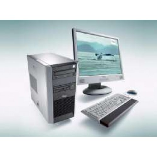 Calculator SH Fujitsu Siemens Scenic P5905 Intel Pentium D, 3.0 Ghz, 80Gb IDE, Memorie 2Gb DDR, DVD-ROM, Tower cu Monitor LCD ***
