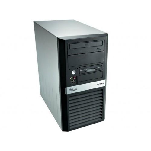 Computer Fujitsu Esprimo E5720, Tower, INTEL Core 2 Duo E8200 , 2.66GHZ, 2GB, 160GB, DVD-RW