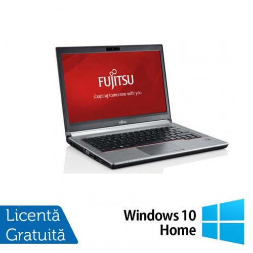 Laptop FUJITSU SIEMENS E734, Intel Core i5-4310M 2.70GHz, 16GB DDR3, 120GB SSD, 13.3 inch + Windows 10 Home, Refurbished