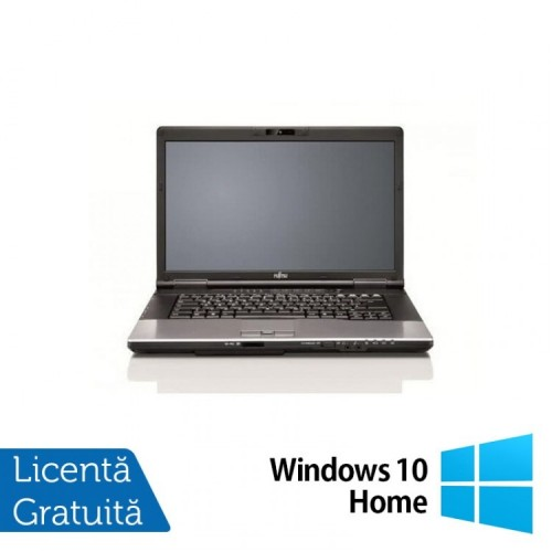 Laptop FUJITSU SIEMENS Lifebook S752, Intel Core i3-3120M 2.50GHz, 4GB DDR3, 320GB SATA, DVD-RW + Windows 10 Home, Refurbished