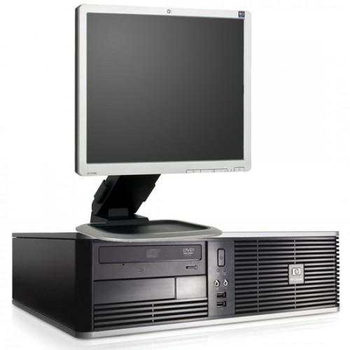 PC HP DC7800,Core 2 Duo E8300 2.8Ghz, 2Gb DDR2, 2500Gb HDD, DVD-ROM cu Monitor LCD ***