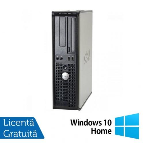 PC Refurbished DELL GX380 Desktop, Intel Core 2 Duo E8400 3.10GHz, 4GB DDR3, 160GB SATA, DVD-ROM + Windows 10 Home