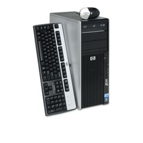 SH Hp Z400 WorkStation, Intel Xeon Quad Core W3520, 2.66Ghz, 8Mb Cache, 8Gb DDR3 ECC, 250Gb HDD, DVD-RW, NVIDIA Quadro