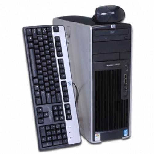 Workstation Second Hand HP XW6200, 2 X XEON 3.6 Ghz, 4Gb DDR2 ECC, 250, CD-ROM, NVIDIA QUADRO NVS 400
