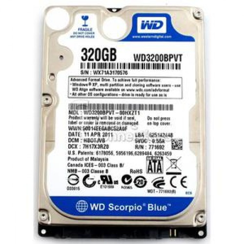 Hard Disk Laptop 320Gb SATA, Diverse Modele