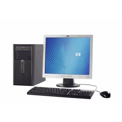 PC HP Compaq Tower DX2200, Intel Pentium D 3.4Ghz, 2GB DDR, 80Gb HDD, Combo cu Monitor LCD ***