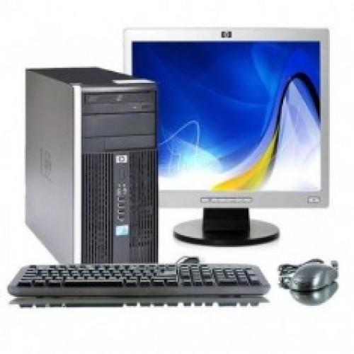 Calculator HP 6005 Pro Tower, Athlon II X2 215, 2.7Ghz, 2Gb DDR2, 160Gb HDD, DVD cu Monitor LCD
