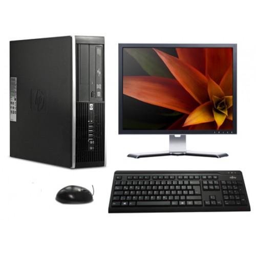 Calculator HP 6200 Pro Desktop, Intel Dual Core G620, 2.70GHz, 4GB DDR2, 250GB HDD, DVD-RW cu Monitor LCD