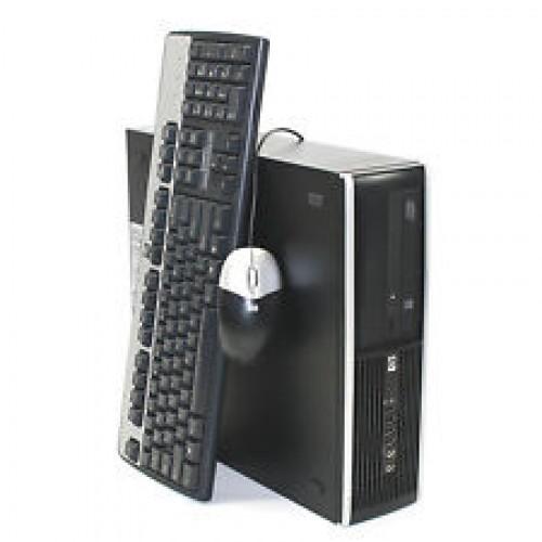 Computer HP Compaq Elite 8000 Desktop, Intel Q6600 Core 2 Quad, 2.40Ghz, 4Gb DDR3, 250Gb, DVD