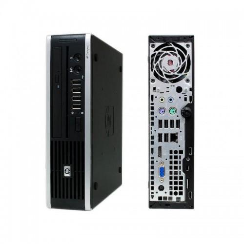 Calculator HP Compaq Elite 8300 USFF, Intel Core i5-3470 3,20 GHz, 4GB DDR 3, 160GB SATA, DVD