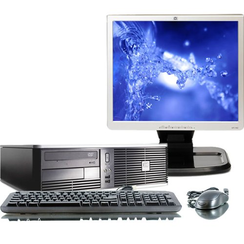 Unitate Second Hand HP DC5850 AMD Phenom 8600B Triple Core, 2.3Ghz, 2Gb DDR2, 250Gb cu Monitor 15 inch LCD***