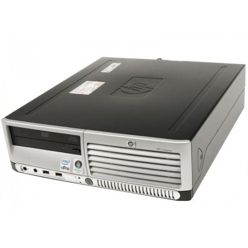 Unitate SH HP DC7700 SFF, Intel Dual Core E5300 2.60GHz, 2Gb DDR2, 80 GB SATA, DVD-ROM