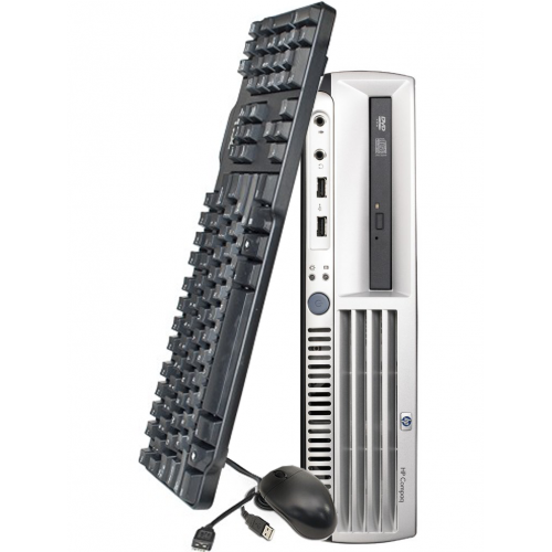 Calculator HP DC7700 Desktop, Intel Core 2 Duo E6300 1.87GHz, 2Gb DDR2, 80 GB, DVD-RW