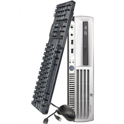 Unitate SH HP DC7700p Desktop, Intel Core Duo E5200 2.50 GHz, 2Gb DDR2, 80 GB SATA, DVD-ROM