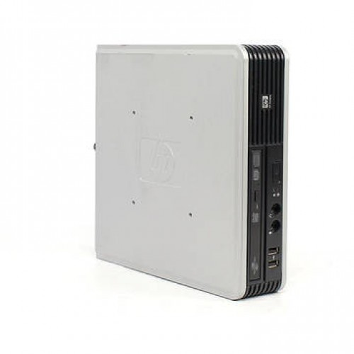 PC HP DC7800p Core 2 Duo E6550 2.33GHz 1GB DDR2 80GB HDD Sata RW VB Coa Ultra SFF Desktop + Windows 7 Home