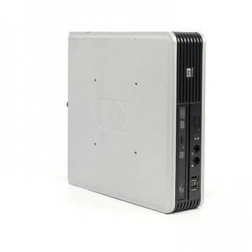 PC HP DC7800p Core 2 Duo E6550 2.33GHz 1GB DDR2 80GB HDD Sata RW VB Coa Ultra SFF Desktop + Windows 7 Home