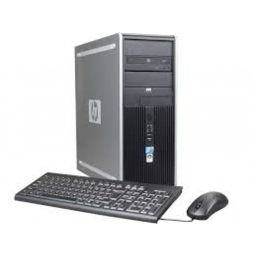Calculator HP Compaq 6000 Pro TOWER, Intel Core 2 Quad Q6600 2.4GHz, 4Gb DDR3, 250Gb, DVD-ROM