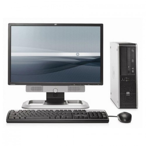 Pachet PC Desktop  HP DC7900, Intel Core2 Duo E8400 3.0Ghz, 2Gb DDR2, 160Gb HDD, DVD-RW cu Monitor LCD ***
