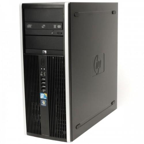 Calculator Second Hand HP Elite 8000 Tower, Intel Core 2 Duo E8500, 3.17Ghz, 4Gb DDR3, 250Gb SATA, DVD