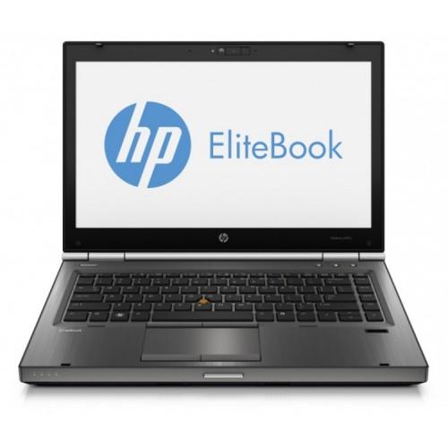Laptop Refurbished HP EliteBook 8470p, Intel Core i5-3210M 2.50 GHz, 8GB DDR 3, 120GB SSD, DVD-ROM, 14 inch LED backlight + Windows 10 Pro