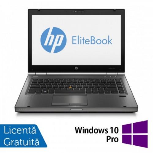 Hp EliteBook 8470p IntelCore i5-3320M Gen.3 2.6GHz 4GbDDR3 320GbHDD 14 inch LED-Backlit HD + Windows 10 Pro