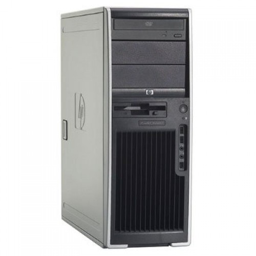 HP XW4400 Workstation second hand, Intel Core 2 Duo E6750, 2.66Ghz, 2Gb RAM, 160 Gb HDD, DVD-RW cu Monitor LCD ***