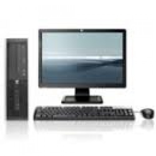 Pachet HP 6000 Pro SFF, Intel Pentium dual-core E5800, 3.2GHz, 2GB DDR3, 160GB HDD, DVD-RW