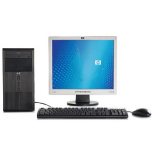 Calculator HP DX2300MT Intel Core 2 Duo E4400 2.0Ghz , 2Gb DDR2, 80Gb HDD, DVD-RW Tower cu Monitor LCD ***