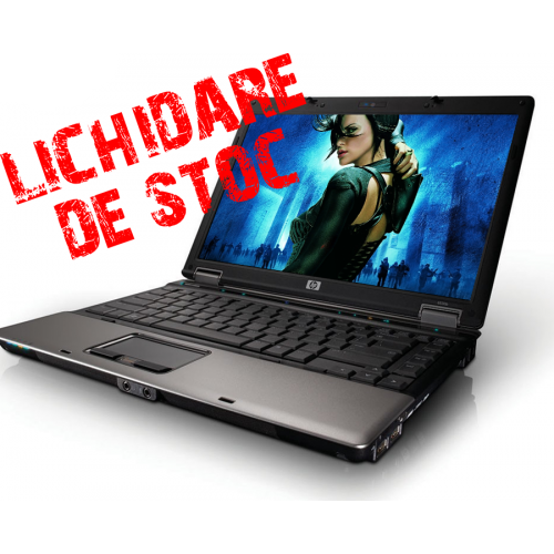 Promotie Laptop HP Compaq 6530b Notebook, Intel Core 2 Duo P8600, 2.2Ghz, 2Gb DDR2, 160Gb, DVD-RW, 14 inci LCD ***