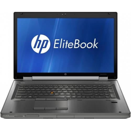 Laptop HP 8760W Workstation, Intel Core i7-2630QM 2.0GHz, 8GB DDR3, 256GB SSD, DVD-RW, Placa video NVIDIA Quadro 3000M GDDR5 SDRAM 2GB, Grad B