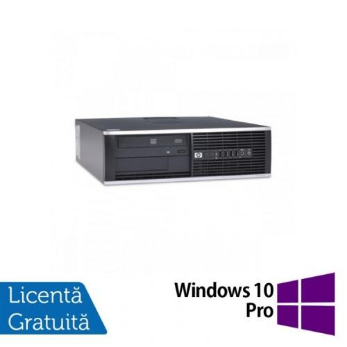 Calculator HP 4300 Pro SFF, Intel Pentium G2020 2.90GHz, 4GB DDR3, 500GB SATA, DVD-RW + Windows 10 Pro, Refurbished