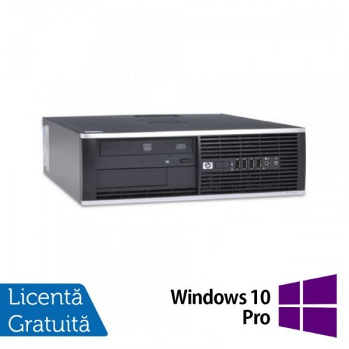 Calculator HP 6000 Pro Desktop, Intel Celeron Dual Core E3400 2.60GHz, 4GB DDR3, 250GB SATA, DVD-ROM + Windows 10 Pro, Refurbished