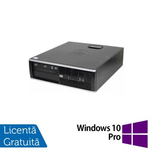 HP 6000 Pro SFF, Intel Core 2 Duo E8400 3.0GHz, 4GB DDR3, 250GB SATA, DVD-RW + Windows 10 Pro, Refurbished