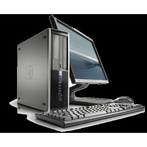 "Pachet  PC HP 6005 Pro, Athlon II Dual Core, 2.8Ghz, 2Gb DDR3,Video HD 4200, 160Gb HDD,DVD-RW + Monitor 17"" ***"