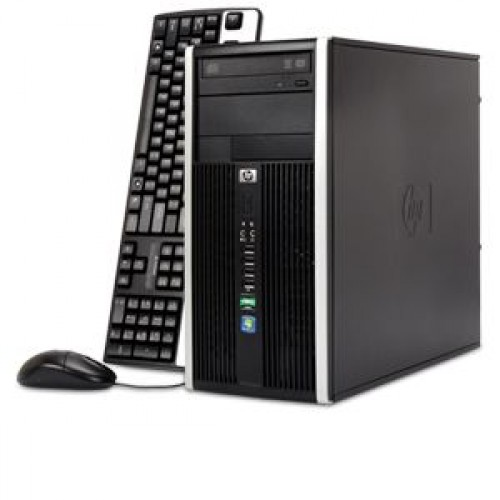 PC HP 6000 Pro Tower, Intel Core 2 Duo E8400, 3.0GHz, 2GB DDR3, 160GB HDD, DVD-RW