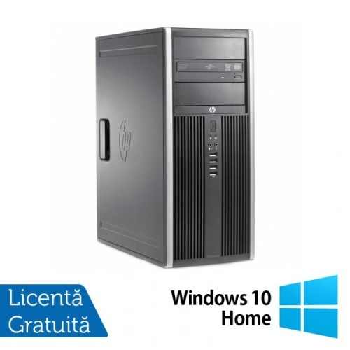 Calculator HP 6200 Pro Tower, Intel Core i7-2600 3.40GHz, 4GB DDR3, 320GB SATA, DVD-RW + Windows 10 Home, Refurbished