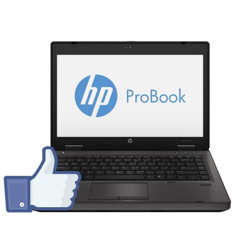 HP ProBook 6470b, Intel Core i5-3230M Gen. a 3-a 2.6GHz, 4Gb DDR3, 320Gb HDD, DVD-RW, Webcam, Display 14 inch