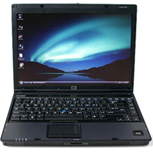 HP Compaq 2510p Notebook, Intel Core 2 Duo U7600, 2Gb DDR2, 80Gb HDD, DVD-ROM, 12 inch ***