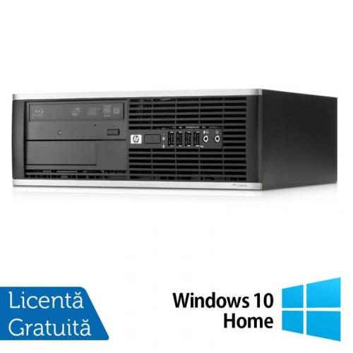 PC HP 8000 Elite Desktop, Intel Core 2 Duo E7500, 2.93GHz, 4GB DDR3, 160GB SATA, DVD-RW + Windows 10 Home