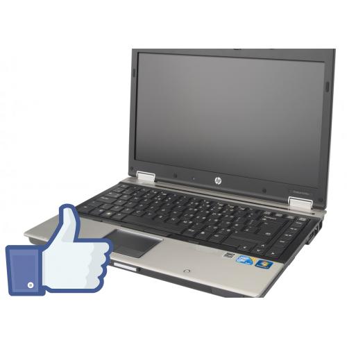 Notebook HP EliteBook 8440p i5-520M 2.4Ghz 4GB DDR3 250GB HDD Sata DVD-RW, display 14.1 inch wide LED