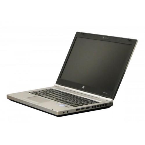 "Laptop HP EliteBook 8470p, Intel Core i5 3320M 2.6 GHz, 4 GB DDR3, 320 GB HDD SATA, DVDRW, Display 14"" 1366 by 768"