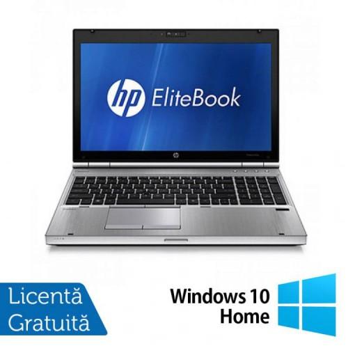 Laptop Hp EliteBook 8560p, Intel Core i5-2520M 2.5Ghz, 4Gb DDR3, 320Gb SATA, DVD-RW, 15.6 inch LED-Backlit HD + Windows 10 Home