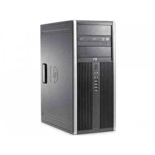 PC HP 8000 ELITE, Intel Core 2 Quad Q8400 2.66Ghz, 4GB DDR3, 250GB HDD, DVD-ROM, TOWER