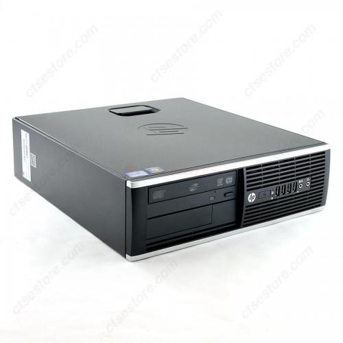 Calculator HP 8200 Elite SFF, Intel Core i3-2100 3.1GHz, 4GB DDR3, 160GB SATA, DVD-ROM + Windows 10 Home