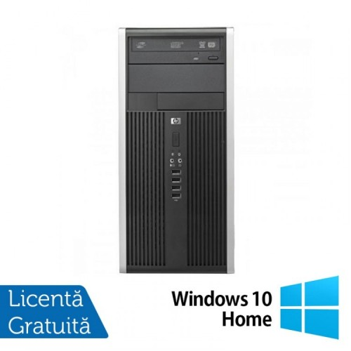 Calculator HP Compaq 8300 Tower, Intel Core i3-3220, 3.20 GHz, 4GB DDR3, 250GB SATA, DVD-RW + Windows 10 Home, Refurbished
