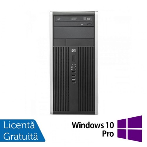 Calculator HP Compaq 8300 Tower, Intel Core i3-3220, 3.20 GHz, 4GB DDR3, 250GB SATA, DVD-RW + Windows 10