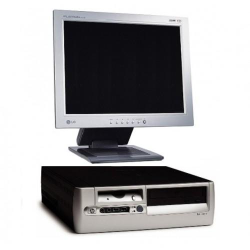 Pachet PC HP Compaq Desktop D530, Intel Pentium 4 2.6Ghz , 1GB DDR , 40Gb HDD, DVD-ROM + Monitor LCD