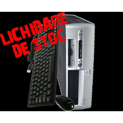 Calculator second hand HP Compaq D530 SFF, Intel Pentium 4 2.8GHz, 512Mb DDR, 80GB HDD, CD-ROM